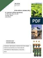 Cover Praktek Kerja Lapang