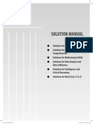 Solutions Manual Pdf Teaching Mathematics