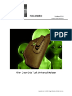 Alien Gear Grip Tuck Universal Holster
