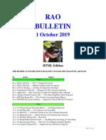 Bulletin 191001 (HTML Edition)