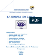 Trabajo Dela Norma Iso 22000(2018)