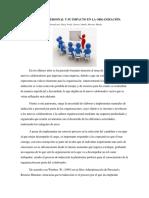 Wiki - La Inducción de Personal y Su Impacto en La Organización