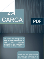 2.4 Carga
