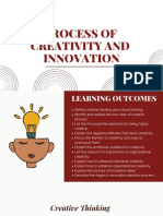 Chapter 4 - Process of Creativity and Innovation