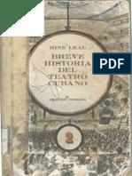 Breve Historia Del Teatro Cubano