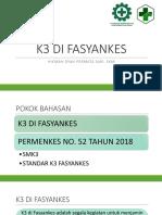 k3 Di Fasyankes