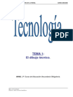 Tecnología. Dibujo técnico