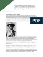Historia de }Gardel