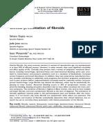 Clinical presentation of fibroids
