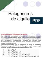 2. Halogenuros de Alquilo