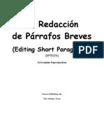 Redaccion de Parrafos Breves