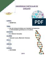 caratula udch genetica