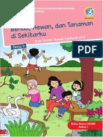 Buku Siswa Kelas 1. Tema 7. Benda, Hewan, dan Tanaman di Sekitarku.pdf