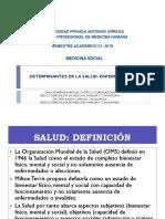 SEMANA1 DETERMINANTES DEL PROCESO SALUD ENFERMEDAD.pptx