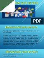 resolucion 2674
