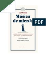 Wilson Carl Musica de Mierda