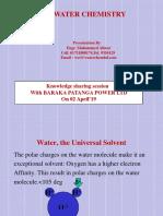 Basic Water Chemistry