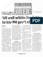 Philippine Daily Inquirer, Sept. 30, 2019, US well wihtin its rights to bar PH govt officials.pdf