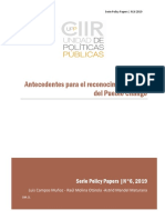 Policy Paper UPP Nº 6 2019