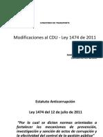 MT MODIFICACIONES al CDU - LEY 1474 DE 2011.pdf