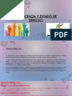 Democracia y Estado de Derecho (1)