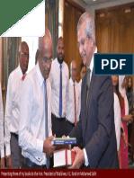 Prof. Prajapati Trivedi meets Hon. President of Maldives