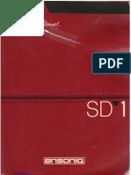 Ensoniq SD-1 Manual
