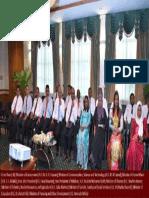 Prof. Prajapati Trivedi of Commonwealth Secretariat Briefing Maldives Cabinet Ministers