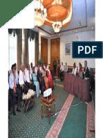 Prof. Prajapati Trivedi Briefing Maldives Cabinet