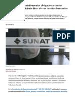Sunat_ Más de 15,000 Contribuyentes Deberán Presentar La Declaración Del Beneficiario Final en Diciembre _ Economía _ Gestión