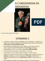 Vitamina c Endovenosa en Megadosis