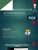 Normativa Nacional e Internacional
