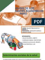 Análisis de Los Determinantes Económicos Perú - Grupo a Terminado