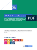 XIV. Pacto de Equidad Para Las Mujeres PND Duque