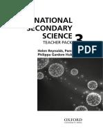 International Secondary Science Teacher Pack 3