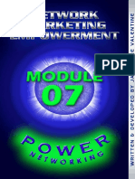 Power Networking Module 07