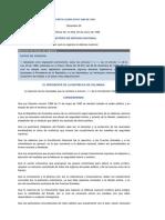 Decreto Legislativo 3398 de 1965. Defensa Nacional