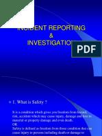 Accident Investigation & Reportinmg