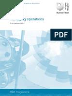 operation management book