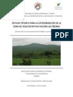 Estudio Técnico de Caracterización Biológica y Socioeconómica Volcán Las Víboras