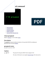 Groupmod Command