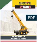 Rt530e Rough Terrain Hydraulic Crane Network