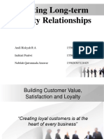 Creating Long-term Loyalty Relationships