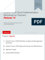 Oracle University Approvals Guide
