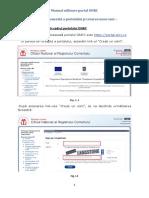 manual portal onrc.ro