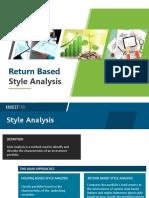 Penjelasan Return Based Style Analysis