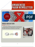 IPSF AIDS Day Pre-campaign Newsletter