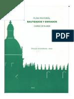 BAUTIZADOS Y ENVIADOS. Diócesis Asidonia Jerez_Plan Pastoral 2019-20