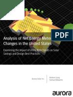 Aurora Solar NEM Variations Study Final 2019