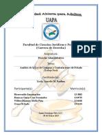Analisis de La Ley 340-06 de Compras y Contrataciones Del Estado (Final)